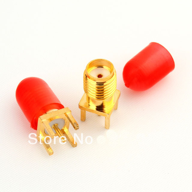2000PCS 6mm Plastic covers Dust cap for RF SMA female connector(China (Mainland))