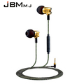 2016 New Original JBMMJ S800 In Ear Headphones High Quality Metal With Microphone In ear Earphone