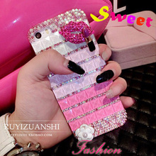 Buy diamond lips stick bling capa Coque Case iPhone 7 plus 7 6 6s plus 5 5s se 4 4s 5c 3G 3GS Rhinestone carcasa Crystal fundas for $5.69 in AliExpress store