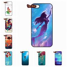Tattoo Ariel The Little Mermaid Phone Case Cover For Xiaomi Mi2 Mi3 Mi4 Mi4i Mi4C Mi5 Hongmi Redmi 2 3 Note 2 3 Pro(China (Mainland))