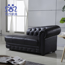High-class european-style rest waiting for leather art sofa recliner(China (Mainland))