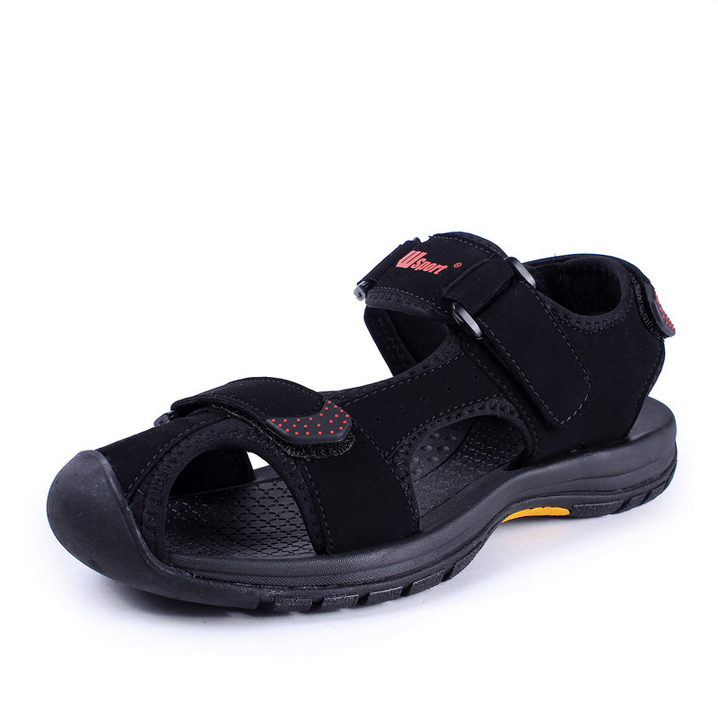 Summer New 2016 Men Vietnam Sandals Closed Toe Man Sandalias Non-slip Rubber Sole Outdoor Footwear