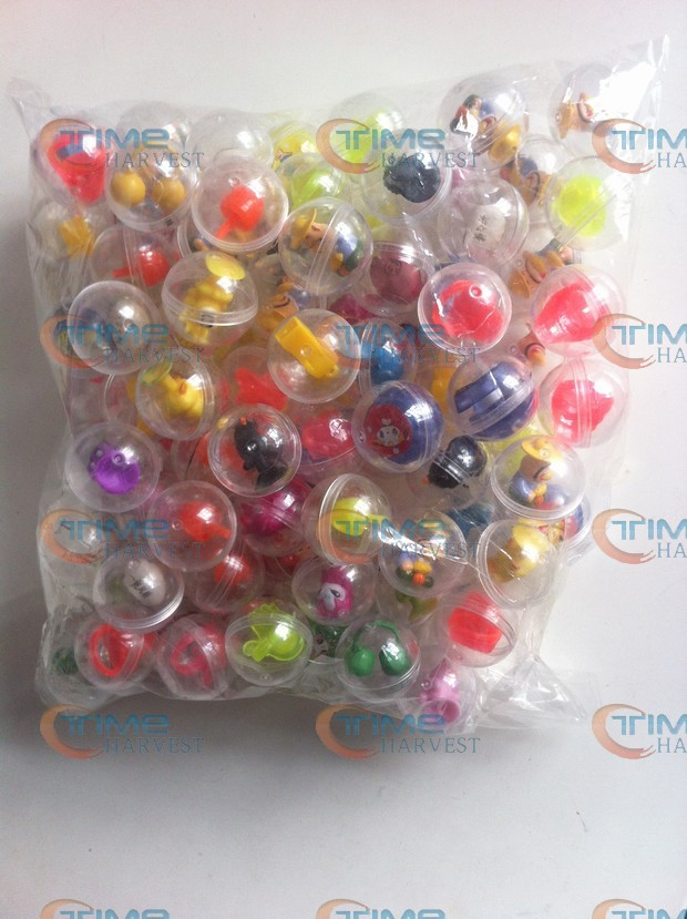 100 pcs/ bag The capsules ball with the toys 32mm capsules cover with mixed style beautiful toys for Toy Vending Vending Machine(China (Mainland))