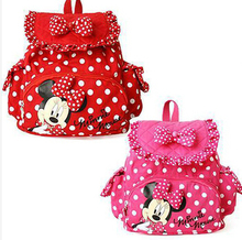 Small Minnie Little Baby Children Girls Backpacks Cartoon School Bag for Kids(China (Mainland))