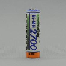 4pcs/lot HR-3u 2700mah for SANYO ni-mh AA batteries Rechargeable Battery Free shipping (China (Mainland))
