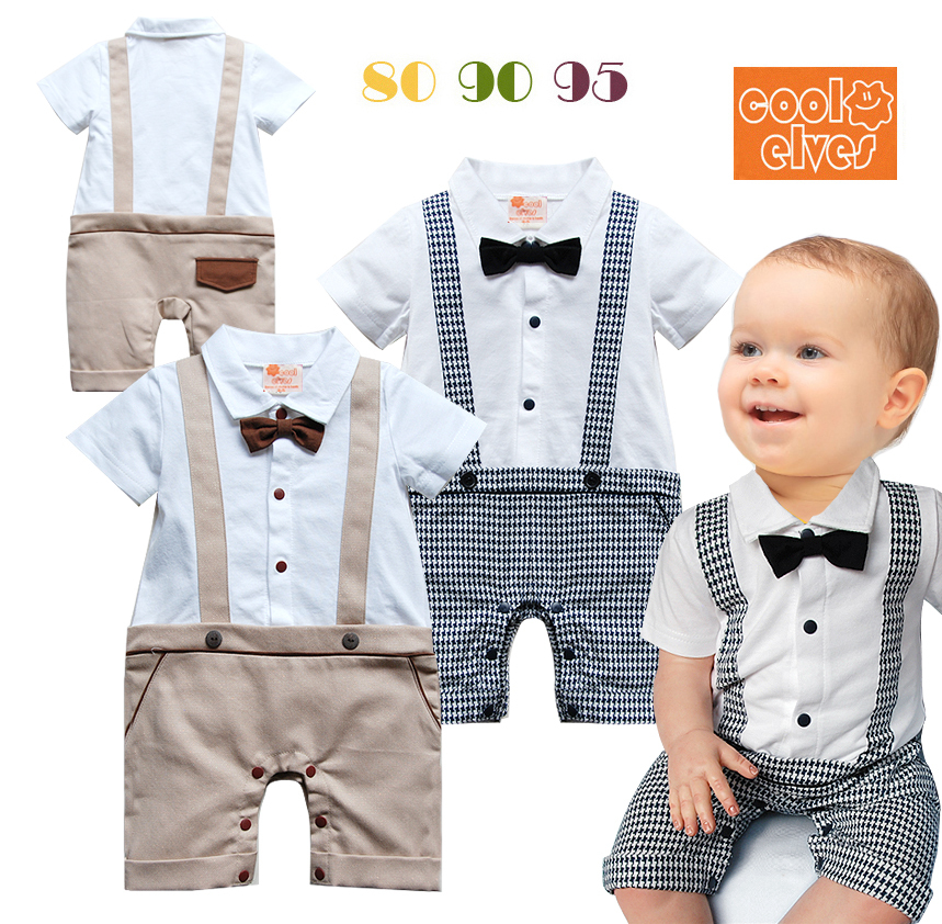 2015 summer newborn baby child toddler boy infant for Baby shirt and bow tie