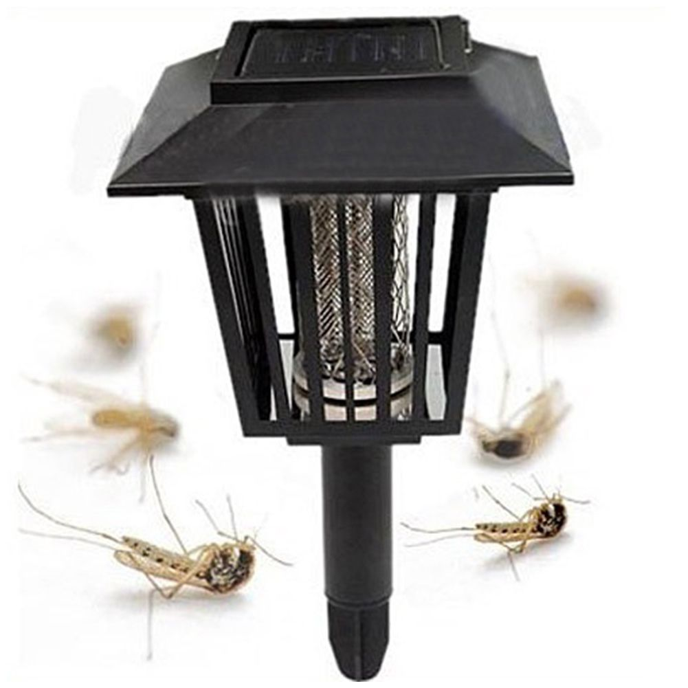 Solar Mosquito light Pest Reject Repeller Killing Bug Insect Trap Night Killer Zapper Garden energia solar mosquito killers(China (Mainland))
