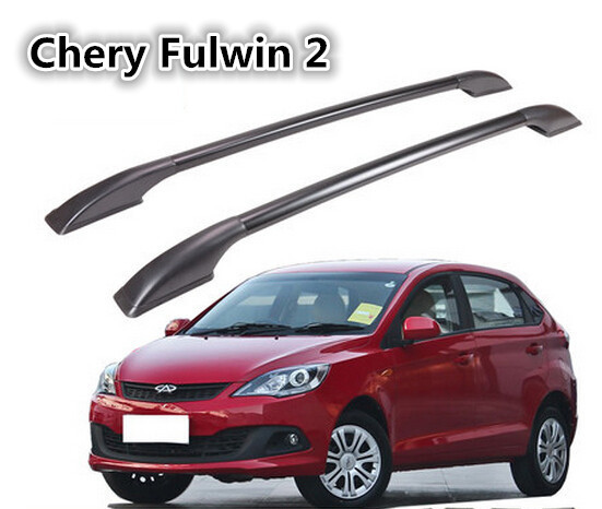 High Quality!Aluminum Car Roof Rack/Luggage rack Roof Racks Modification Accessories For Chery Fulwin 2.shipping(China (Mainland))