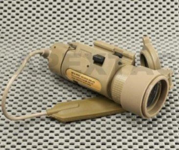 USMC & Navy Seal SU-233 Style Flashlight TAN free ship