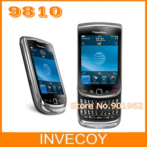 9810 original Blackberry 9810 unlocked moblie phone GPS WIFI 5MP JAVA QWERTY Keyboard One Year Warranty freeship(China (Mainland))