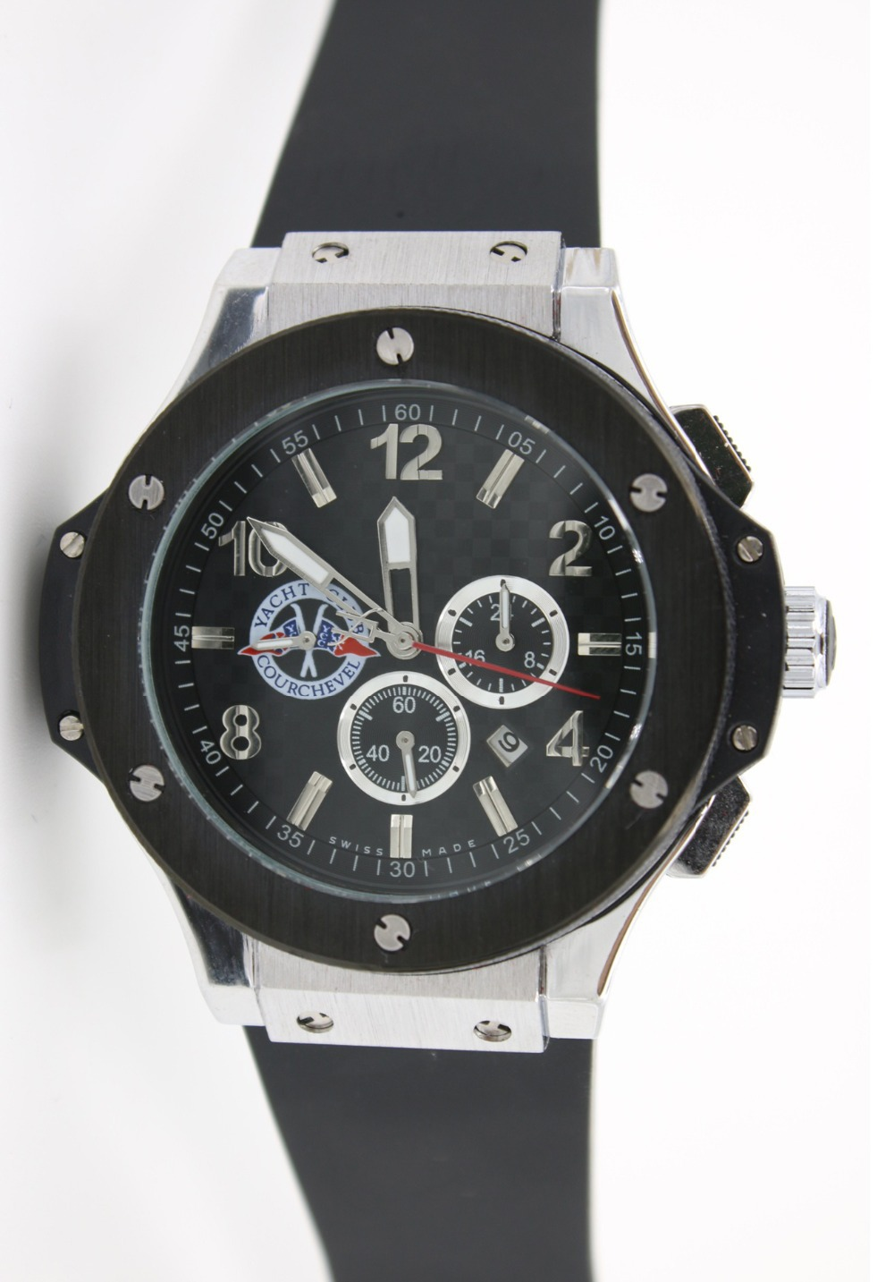 High quality silicone wristbands alloy mechanical leisure watches relogio boamigreloj acero XFCS s003(China (Mainland))
