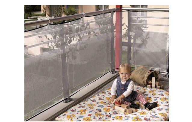 Перила лестницы балкон безопасности защиты Чистой ребенка за.