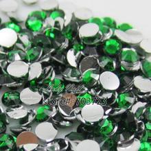 Buy 1000Pcs/Bag ss16 4mm Resin Acrylic Nail Art Glitter Rhinestones Nail Tools DIY Decoration Stones HotfixDark Green N19 for $1.24 in AliExpress store