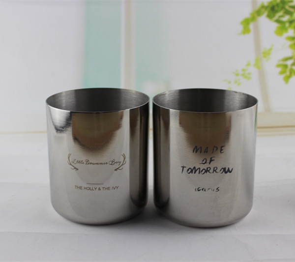stainless steel clear 14oz moscow Mule Copper Mugs polished vodka bar creative hander holder hot-selling Tin Soy Wax candle(China (Mainland))