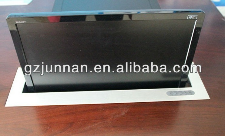 17'' lcd lift mechanism with aluminum alloy for office system(China (Mainland))