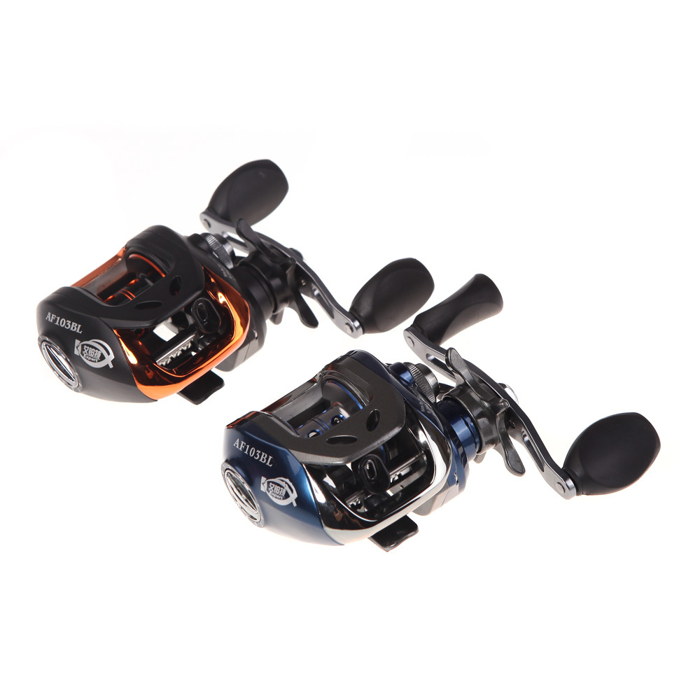 Lowest price High Speed 10+1BB Ball Bearings Left Hand Bait Casting Fishing Reel Carp fishing Gear Baitcasting Reel 6.3:1 AF103(China (Mainland))