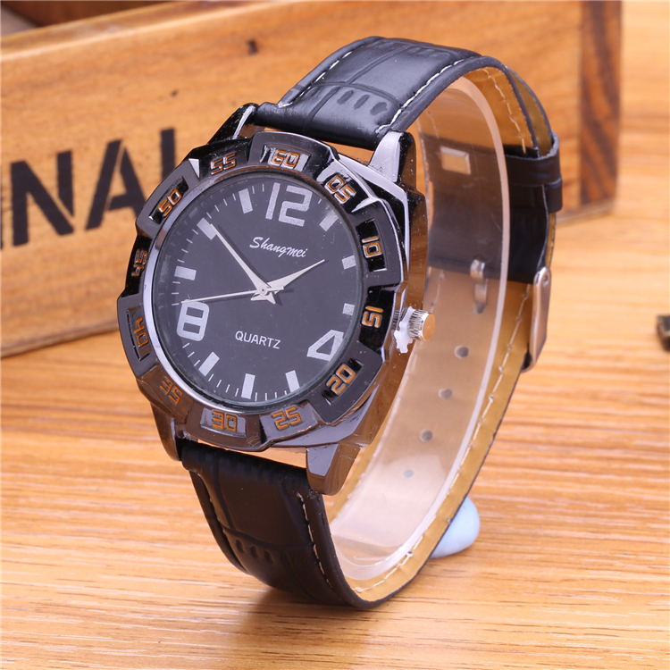 Watches Men Luxury Brand Fashion Simple Quartz Watch Men Genuine Leather Dress Watches Casual Men Wristwatch