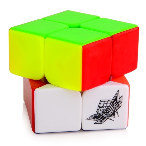 2016 Newest Cyclone Boys 2x2x2 Magic Cube (50mm) Colorful Challenge Special Toys Cubo magico Educational Gifts(China (Mainland))