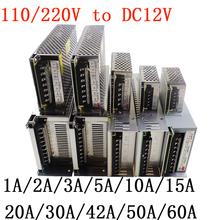 Buy Power Supply Transformer AC100-240V DC12V led Driver 1A 2A 3A 5A 10A 15A 20A 30A 40A 50A 60A LED Strip /CCTV Power Adapter for $3.55 in AliExpress store