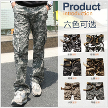 28-38 Free Shipping Spring New Arrive Famous Brand New-Men's Casual Army Style Cargo Trousers Work Pants For Autumn/Winter