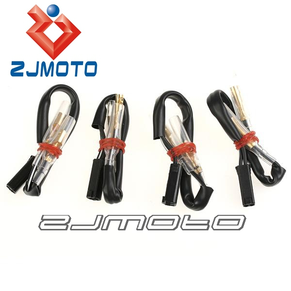 aliexpress buy 4 pcs oem turn signal wiring adapter harness connectors 2 wire for