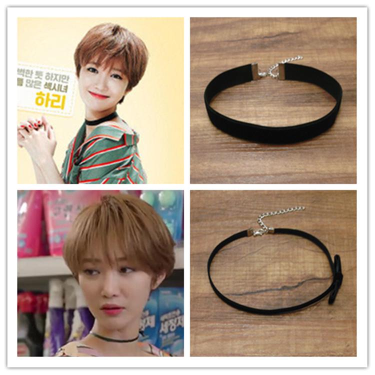 2015 она была довольно южнокорейская драма черный бархат ожерелье горячая серии-бантом ожерелье хван юнг Eum парк Seo суб-джун