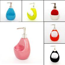 Washroom Fashion brief bathroom ceramic lotion bottle detergent bottle shower gel bottle hand sanitizer bottle cleaning ball(China (Mainland))