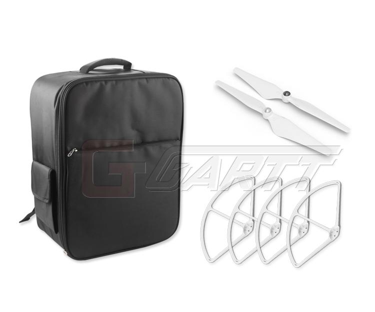 Backpack Bag for DJI Phantom 3 Quadcopter +9450 propeller +9'' Propeller guard protector(China (Mainland))