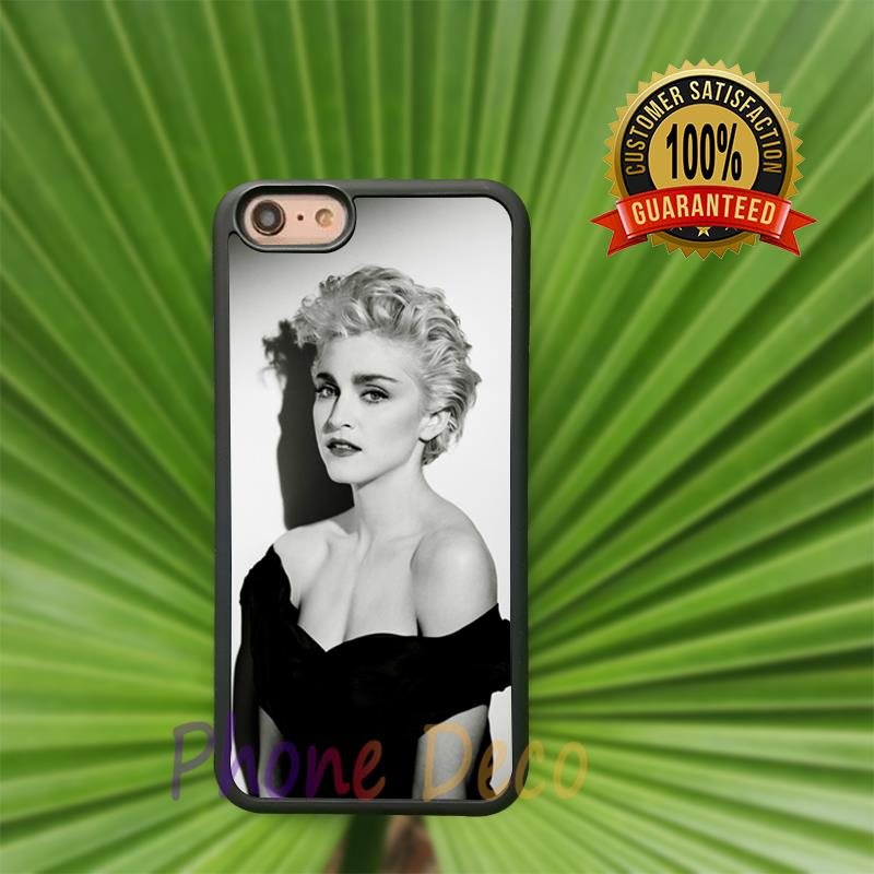 Madonna fashion cell phone cases for iphone 4 4s 5 5s 5c 6 6s 6plus 6splus B3204