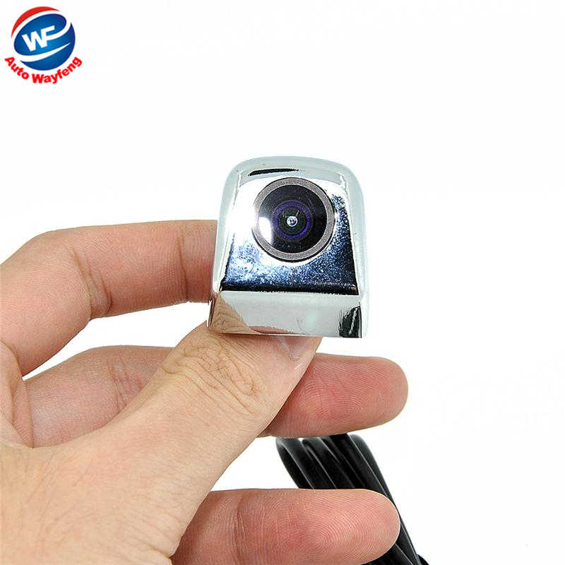 Factory Selling HD CCD Car Rearview Camera Waterproof night vision Wide Angle Luxur car rear view camera reversing Backup Cam(China (Mainland))