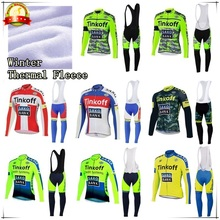 2015 Winter Thermal Fleece Pro Team Long Sleeve Tinkoff Cycling Jersey/Ropa Maillot  Invierno Ciclismo Bicycle MTB Bike Clothing
