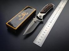 Browning 338 Folding Knife Pocket Mini Portable Outdoor Camping Survival Knives Hunting Knife Free Shipping(China (Mainland))