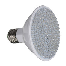 Excellent Quality E27 7W 138 LED Beads Plant Grow Lamp Yard Garden Hydroponics Light Plant Grow Lamp(China (Mainland))