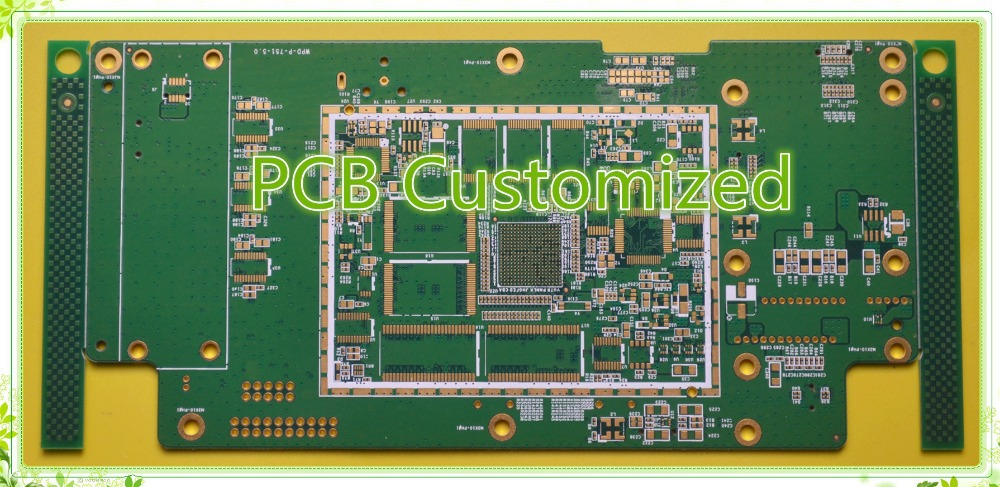 10layer printed circuit board/Immersion Gold, FR4 Tg170 material ,quick turn services from pcb factory,UL,TS16949 and RoHS Marks(China (Mainland))