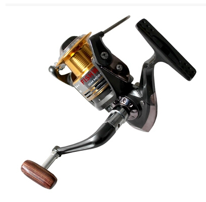 Free Shipping 9-axis 3000 series metal and ABC Plastic Front drag spinning reels high quality fishing reels fishing gears(China (Mainland))