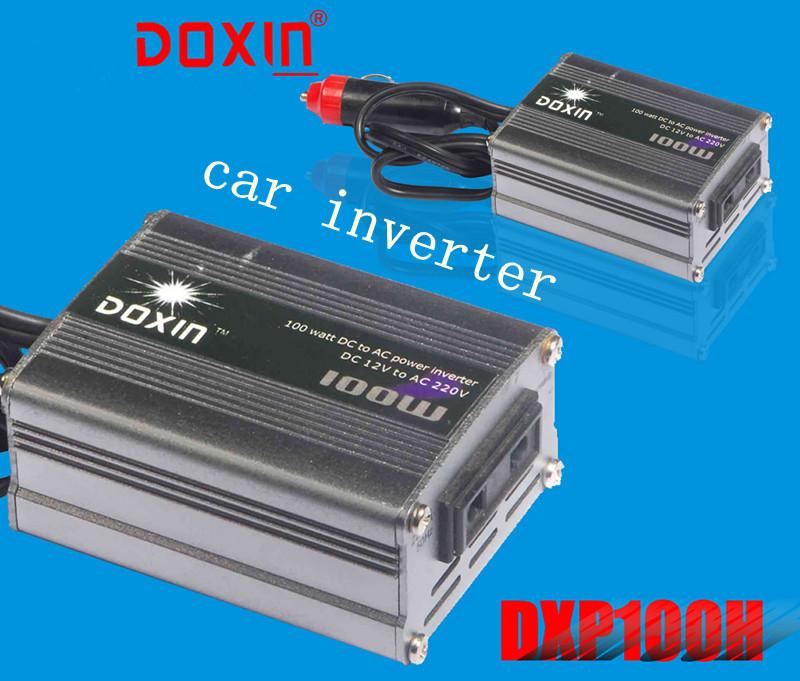 DOXIN 100W DC 12V to AC 230V Portable Car Power Inverter Charger Voltage Converter 12V To 220V Transformer(China (Mainland))