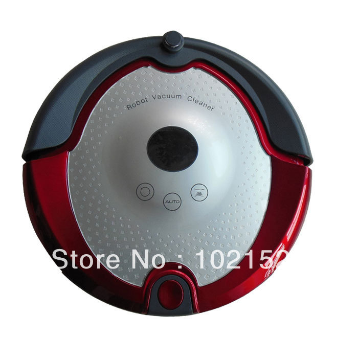 Automatic Intelligent Robot Vacuum Cleaner For Home A360 One-burron Operation Robotic Cleaning Floor Machine(China (Mainland))