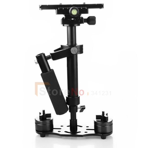 Фотография 2015 NEW S40 40cm Handheld Stabilizer Steadicam with Carry Bag for Camcorder Camera Video DV DSLR High Quality