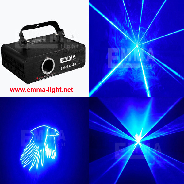 Programable projector 2w blue outdoor laser beam light show in stage lighting effect from lights - Outdoor laser light show ...