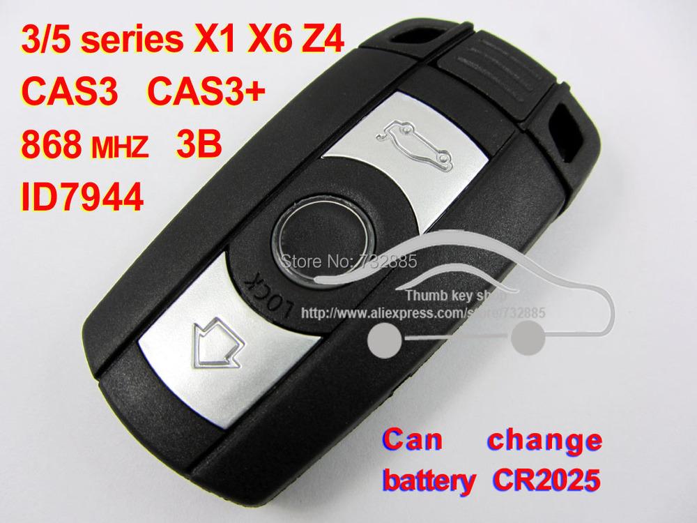 Купить Высочайшее Качество Smart Remote Key Для BMW Cas3 системы X1 X6 35 Z4 868 МГЦ (для E60.E61. E90.E92. E93.E70.71.72)