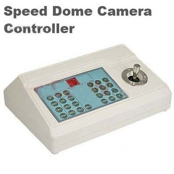 RS485 2D CCTV Keyboard Controller Joystick DC 12V for Security CCTV PTZ Camera 1.2KM Max Communication Distance