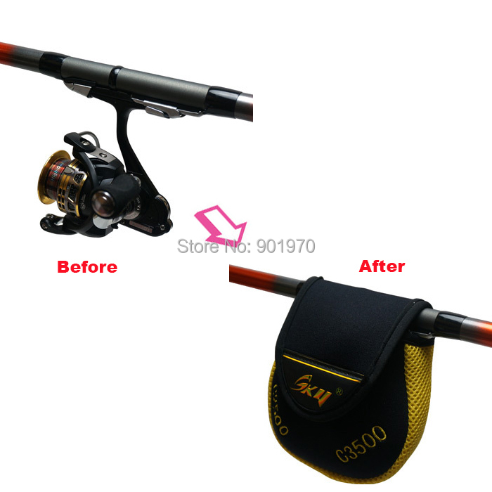 Buy 3pcs lot fishing reel protective for Fishing reel covers