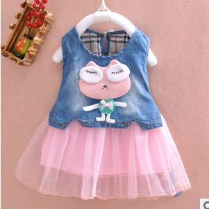 Платье для девочек MamaKiss Recem Nascido 2015 A417 жилет для девочек mamakiss stable boy a329