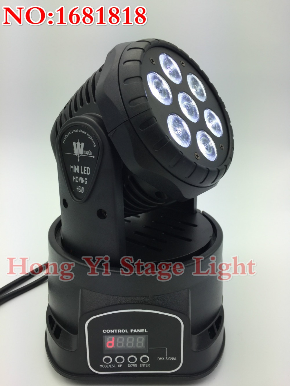2015 Top Seling 2pcs/lot Led dmx wash 7X12W mini moving head High Brightness Moving Head Mini Wash Light,Factory free shipping(China (Mainland))