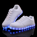 Unisex Chaussure a Led 8 Couleur 2017 New Fashion Led Shoes Casual Men Shoes Led Luminous