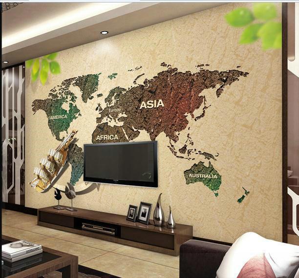 New large wallpaper custom wallpaper world map green for Home wallpaper world map