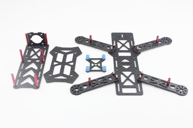 assembled full kit 250mm q250 pro carbon fiber rft rc
