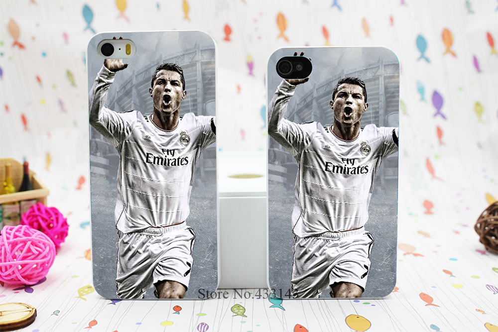 Cool Cristiano Ronaldo CR7 Love Football Style Hard White Skin Case Cover iPhone 5 5s 5g 4 4s - Shenzhen ZhuoYou Technology Co.,LTD store