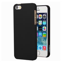 Xinbo пластик, 0,8 мм ультратонкий полупроницаемую чехол чехол коке Fundas пункт для Apple iPhone 5 5S телефон чехол черный 9 цветов