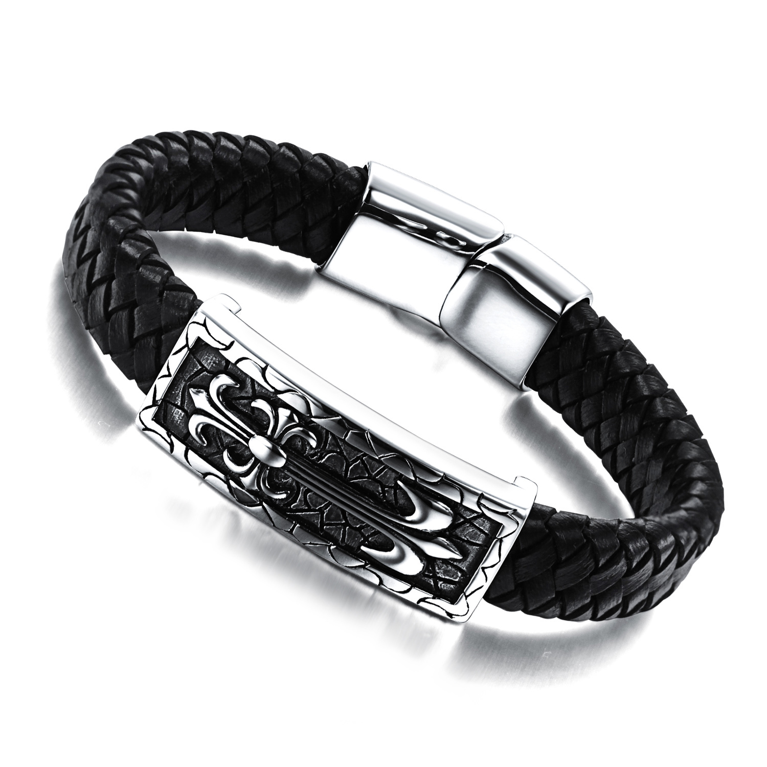 Wholesale Fashion jewelry male bracelet knitted hand-rope jewelry male Free Shopping(China (Mainland))